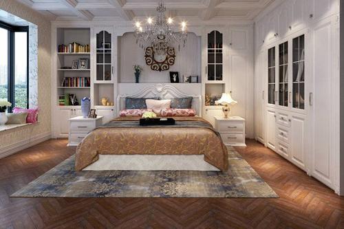 让空间感更足的卧室色彩搭配
