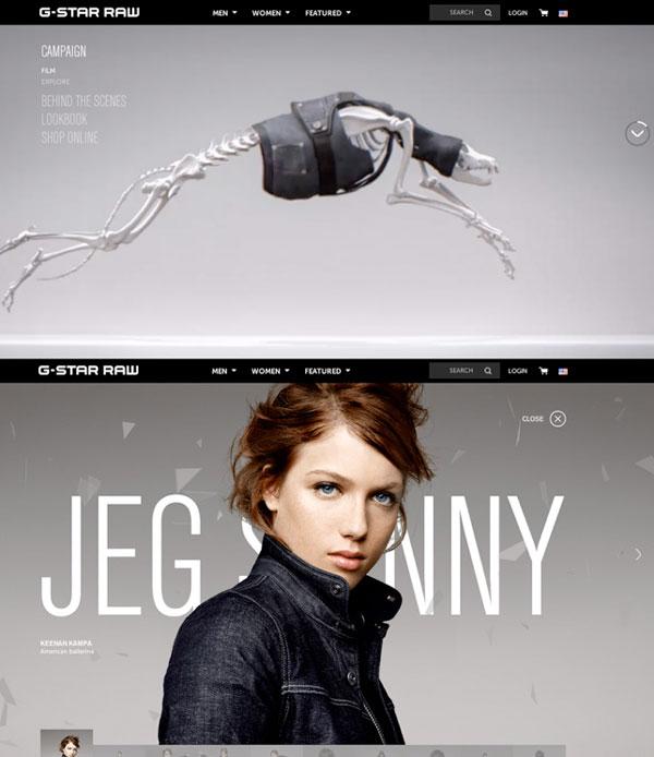 对于时尚网站20创意性解决方案007